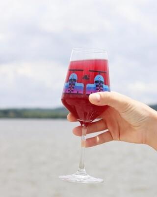 Wine Hybrid Stemmed Glass