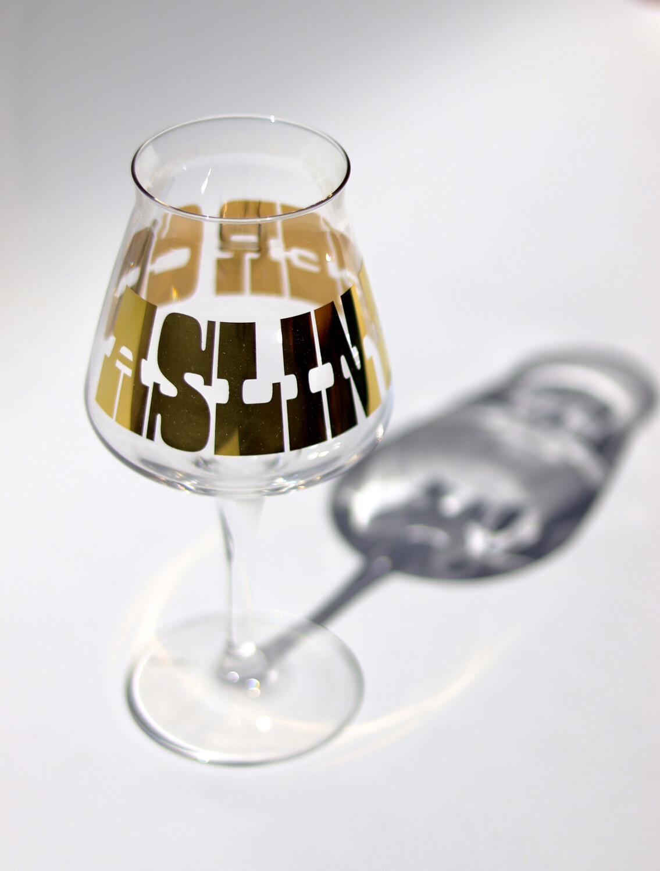 Gold Foil Teku Glass