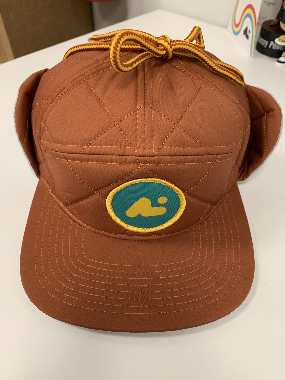 7 panel hat with flaps