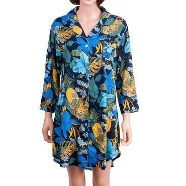 Floral Sleep Shirt