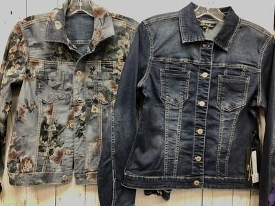 Reverse Denim Jacket