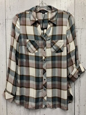 Plaid Blouse