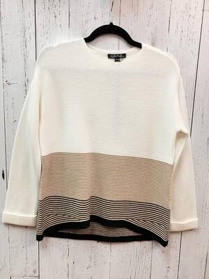 Plushy Stripe Sweater