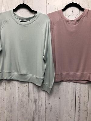 Modal Rib Sweatshirt