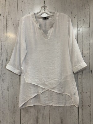 Cross Front Cotton Top