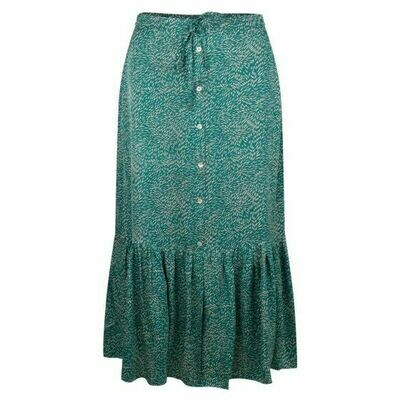 Wheat Print Skirt