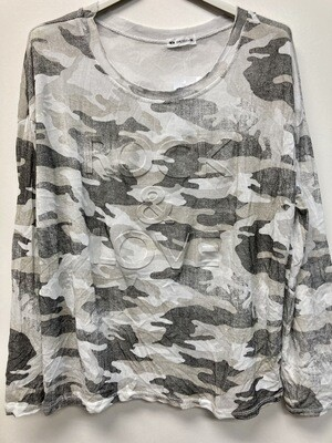 Cam Prnt Shirt
