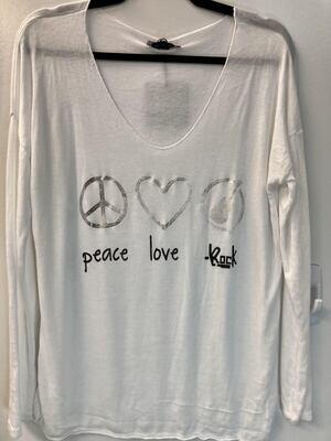 Peace, Love, Rock Sweater