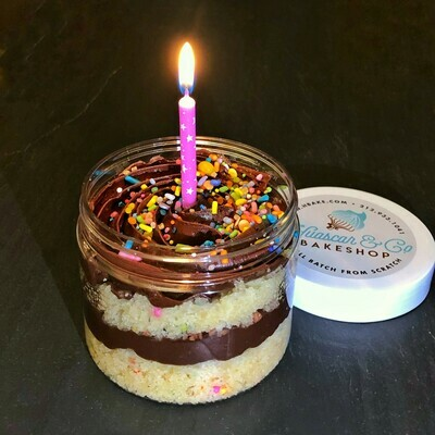 NEW! Classic Birthday Cake Jar