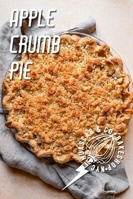 NEW! Apple Crumb Pie 10-inch PRE-ORDER