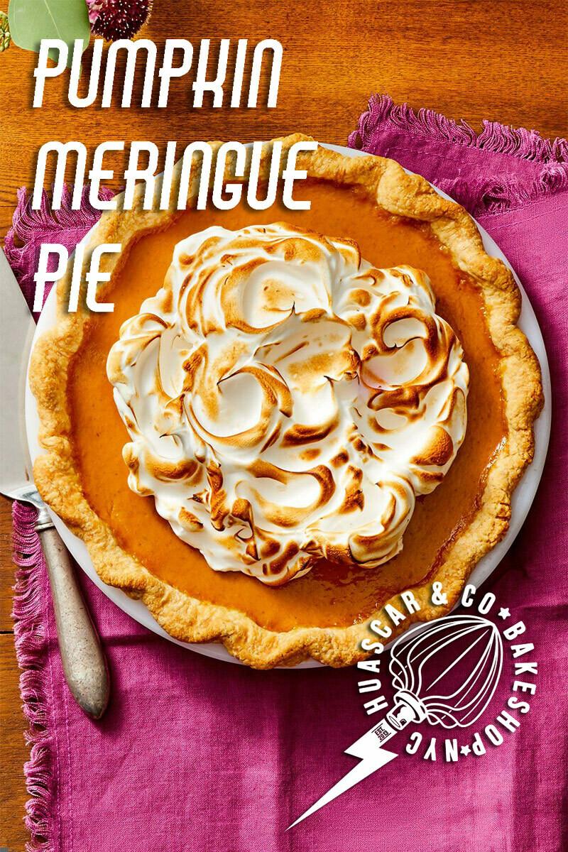NEW! Pumpkin-Meringue Pie 10-inch PRE-ORDER