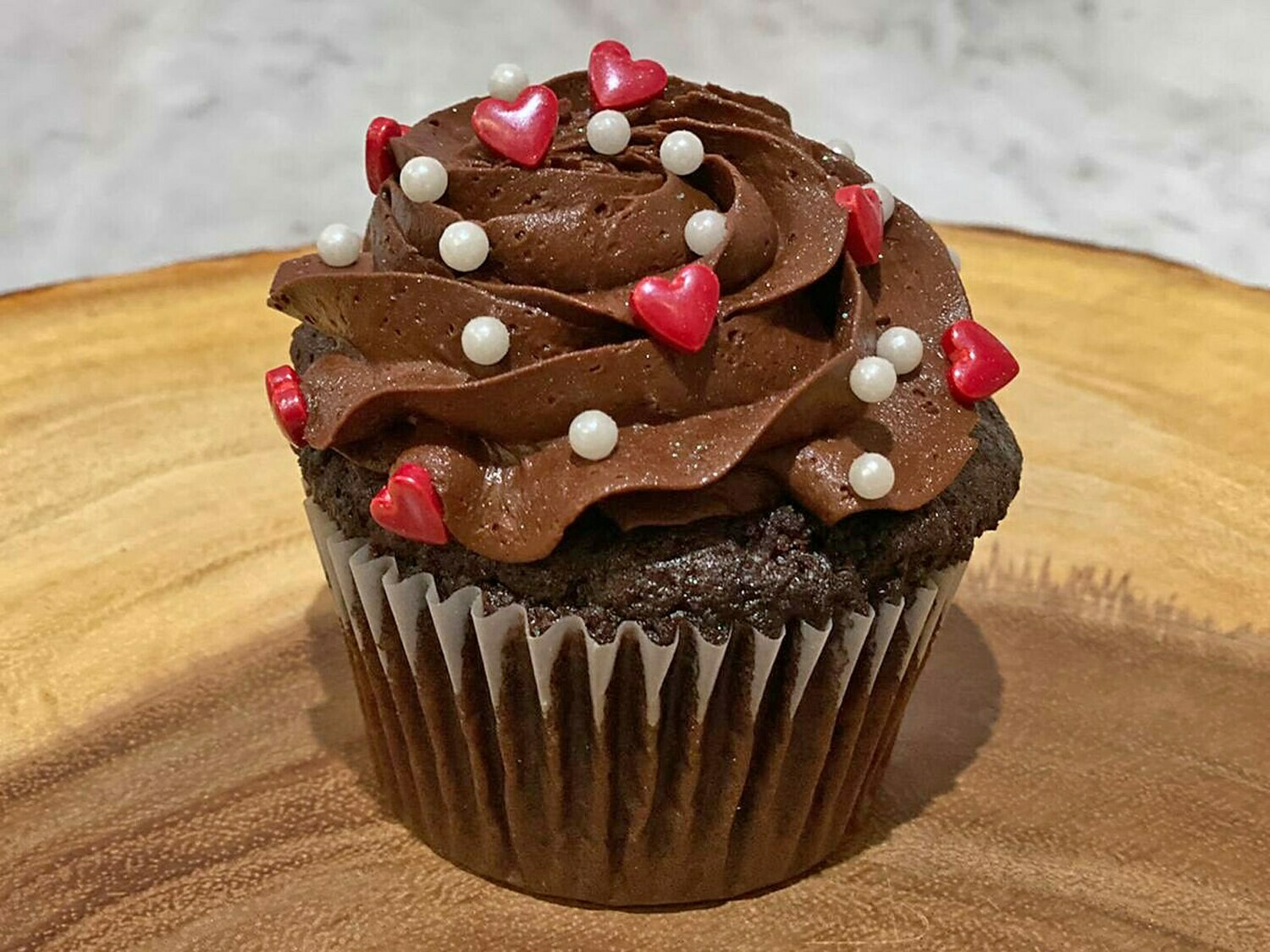 PRE-ORDER Valentine's Day Chocolate Cupcake for 2/13 or 2/14