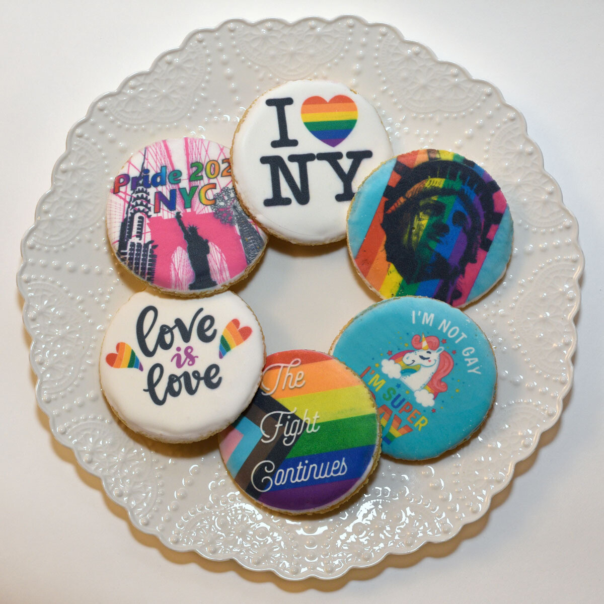 Pride Cookie 6-Box (Not for same-day.)
