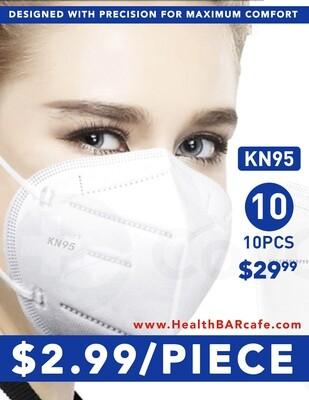 Pack of 10 KN95 masks