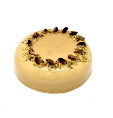 Torta semifreddo pistacchio e crema per 4/6 persone