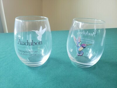 PRAC Hummingbird Stemless Wine Glass