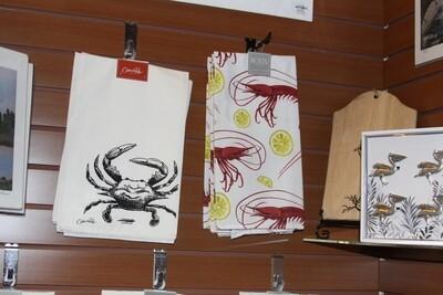 Hand Towel-Black Crab