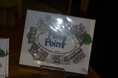 Moss Point City Print 8x10