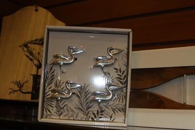 Pelican Napkin Rings-set of 4