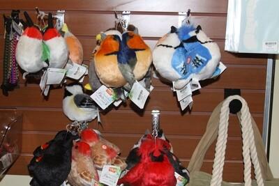 Singing Plush Birds