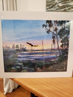 Eisler Eagle's Wings Print