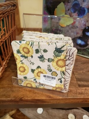 MAH Bronze Sunflower Coasters