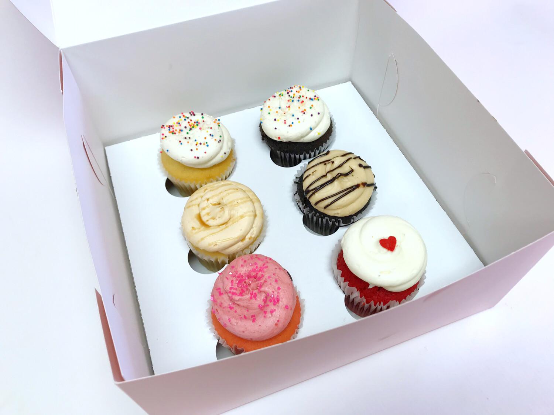 Half Doz Cupcakes- Best Sellers