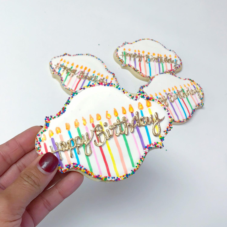 Plaque Cookie