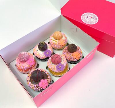 Godiva's Cupcake Half Dozen