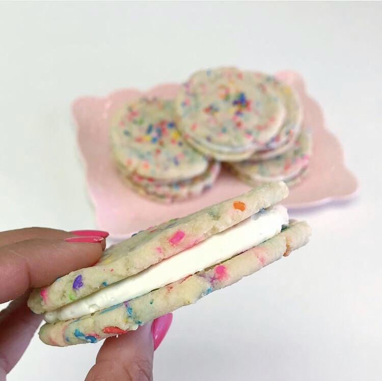 Birthday Cookie Sandwich