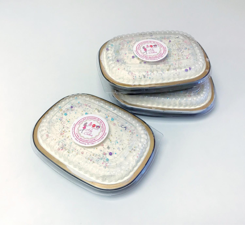 Medium Snack Cake- Vanilla