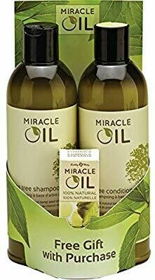 Earthly Body Miracle Oil Shampoo & Conditioner Pack W/free Gift by Earthly Body