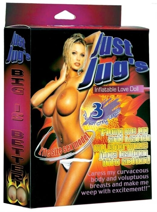 Just Jugs - Inflatable Sex Doll
