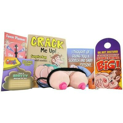 Crack Me Up Gag Gift Surprise Bag