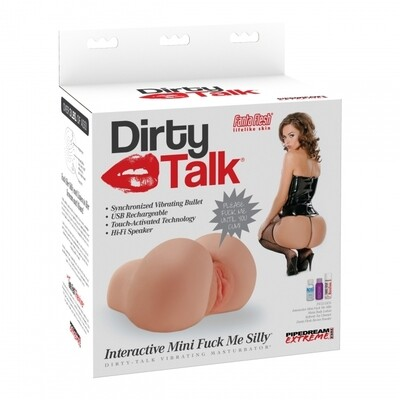 Dirty Talk Interactive Mini F*ck Me Silly Masturbator