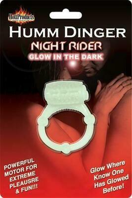 Humm Dinger Night Rider Glow-In-The-Dark Vibrating