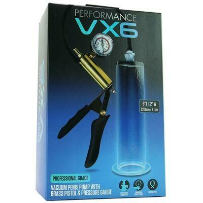 Performance VX6 Pump With Brass Trigger & Gauge