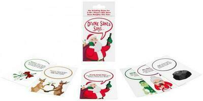 Drunk Santa Says Card Game
