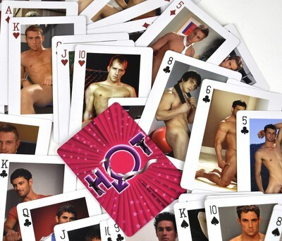 HOT Nude Mens Playing Cards