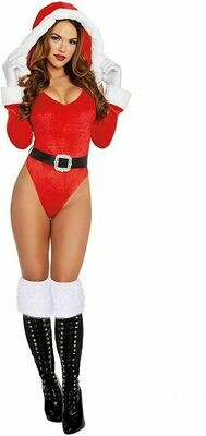 Dreamgirl Santas Helper Claus Sexy Bodysuit