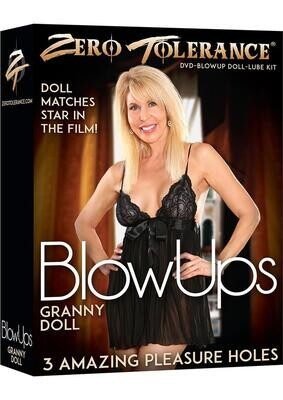 Blow Ups Granny Doll With Dvd And Lube Kit