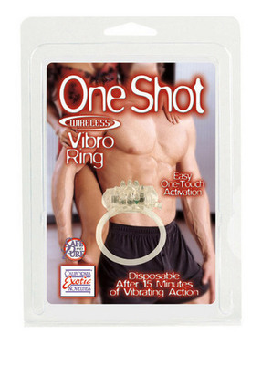 One Shot Silicone Wireless Vibro Ring