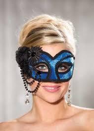 Royal Velvet Half Mask