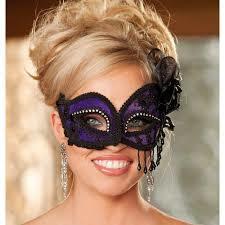 Satin And Lace Eye Mask
