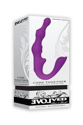 Come Together Strapless Strap- On by Evolved