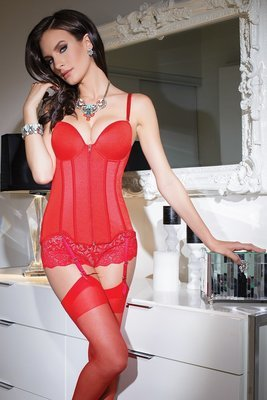 Bustier-Red