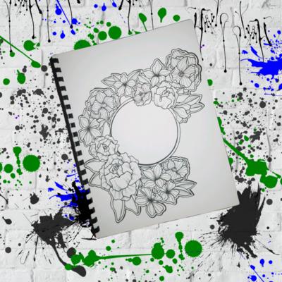 Handmade Artist Coloring Book