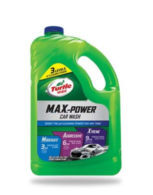 Turtle Wax M.A.X.-Power Car Wash