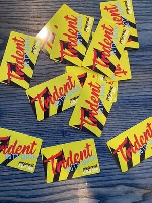 Trident Auto Wash Card