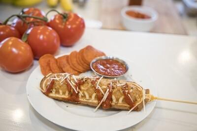 Savory Wafflerita- Pizza Waffle